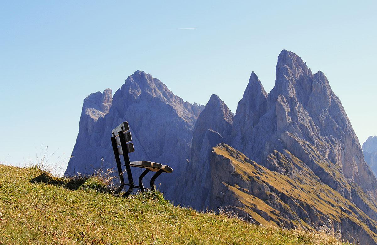 Urlaub in den Dolomiten Grödnertal Val Gardena Gröden